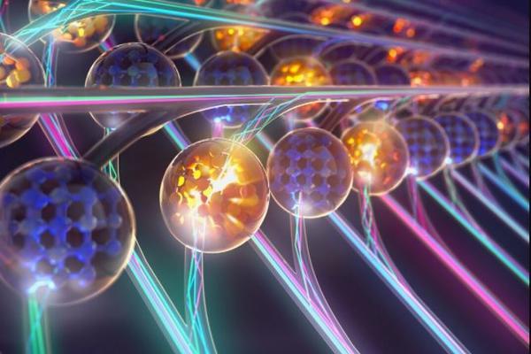 a convolution neural network using coloured lights