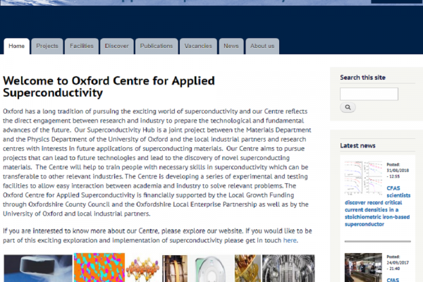 Centre for Applied Superconductivity