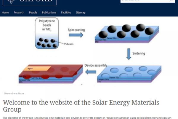 Solar Energy Materials Initiative