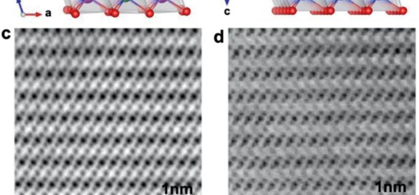 Imaging Oxygen Lattice Distortions