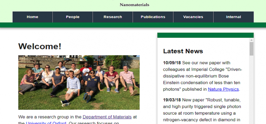 Photonic Nanomaterials Group