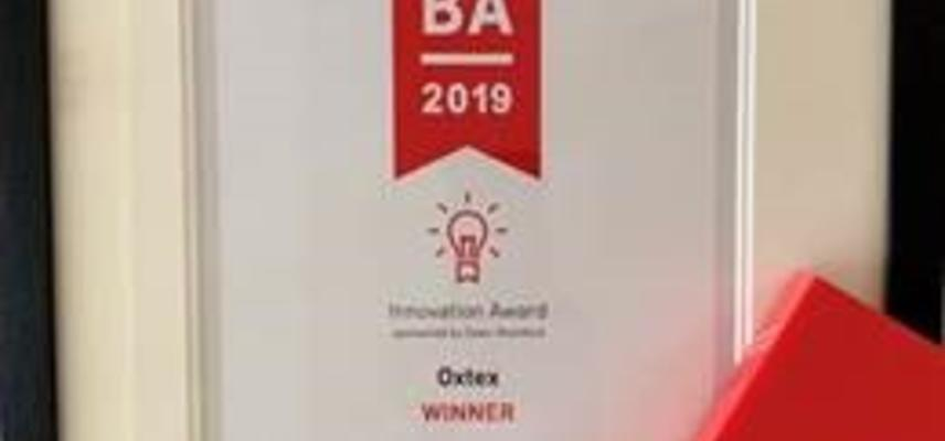 WOBA 2019 Innovation Award