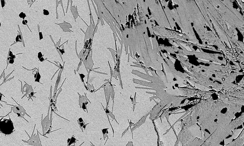 Microstructure of multifilamentary high temperature superconducting wire joint