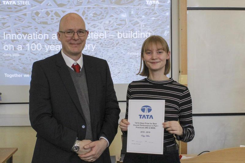 TATA Steel Prize 2018-2019