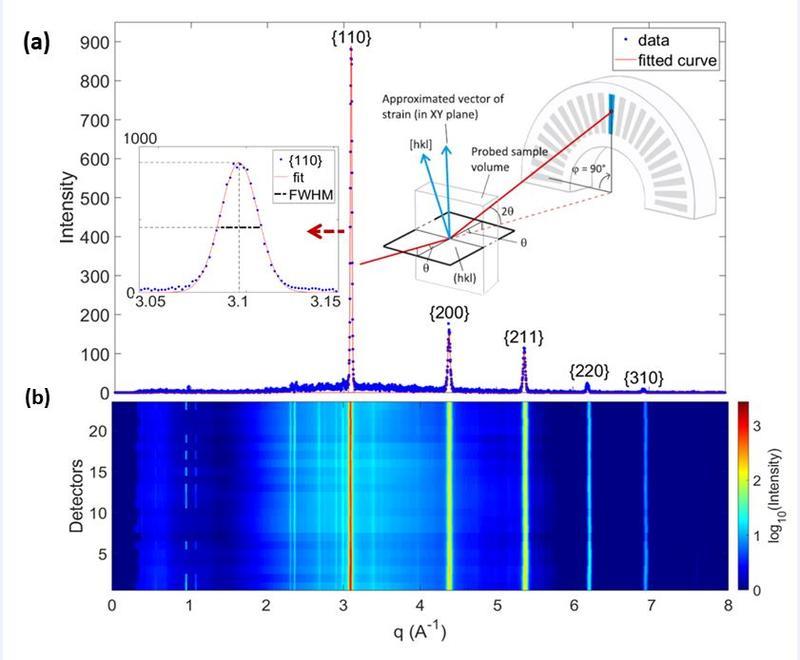 Data normalization across 23 detector elements