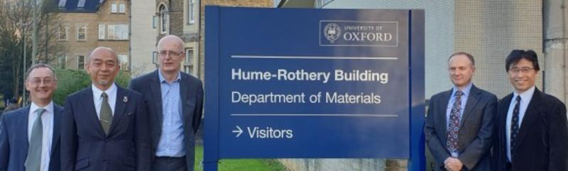 Hitachi-Metals Oxford UTC agreement signing delegation