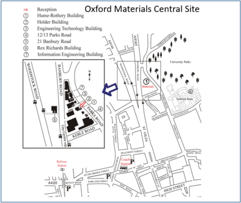 Oxford Materials Central Site Map