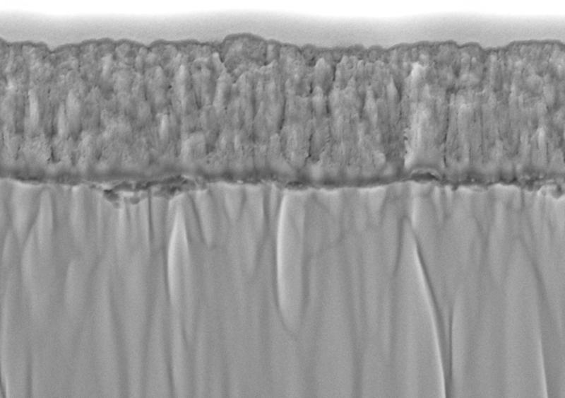 Analysis of interfacial layer between sputtered LiCoO2 thin film cathode and LLZO bulk solid electrolyte