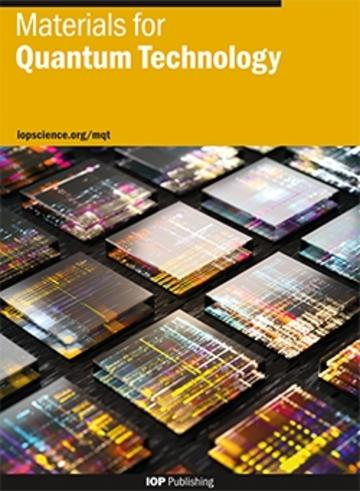 Materials for Quantum Technology