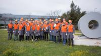 industrial tour to provence 2018  visiting arcellormittal